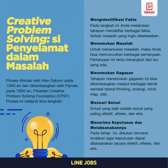 Creative Problem Solving: si Penyelamat dalam Masalah