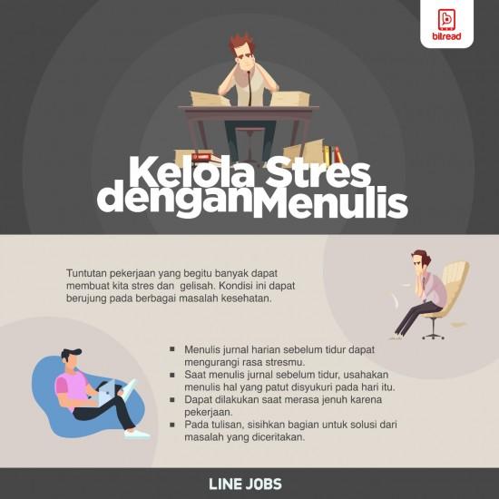 Kelola Stres dengan Menulis