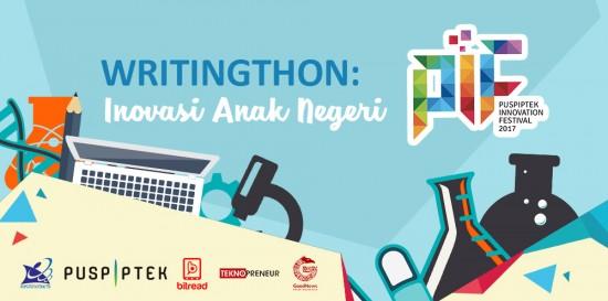 WRITINGTHON #1 DI INDONESIA