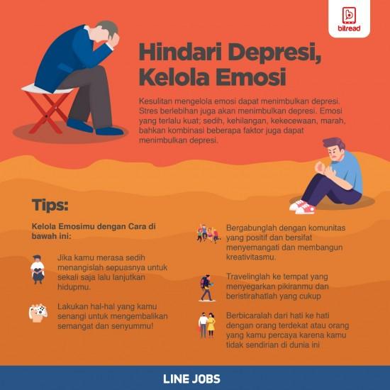 Hindari Depresi, Kelola Emosi