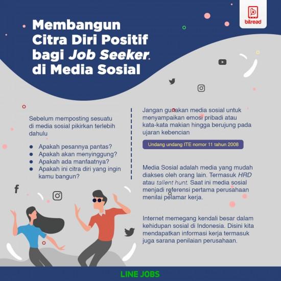 Membangun Citra Diri Positif bagi Job Seeker di Media Sosial