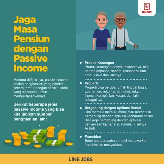 Jaga Masa Pensiun dengan Passive Income