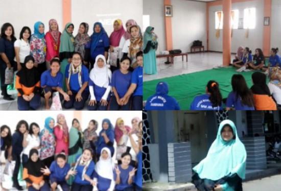 Pelatihan Menulis di Lapas wanita Bandung