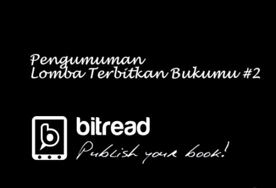 Pengumuman Lomba Terbitkan Bukumu #2
