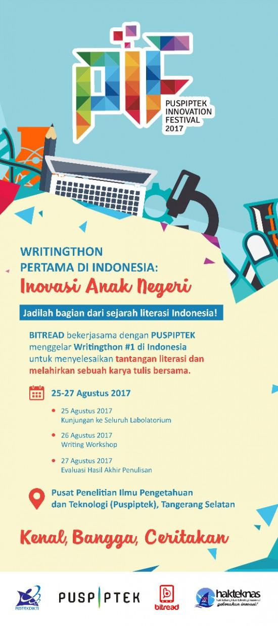 10 Peserta Writingthon Inovasi Anak Negeri