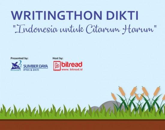 Pengumuman Pemenang Kompetisi Writingthon Dikti